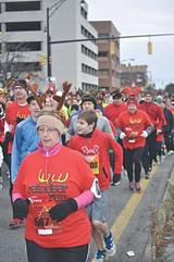 Reindeer Run: Saturday, December 21. - PHOTO PROVIDED