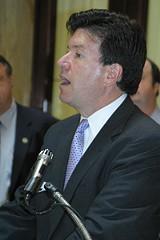 Republican candidate John Faso, in Rochester last - week.