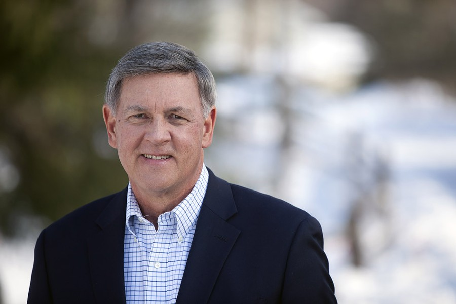 Republican Rich Funke has a 25-point leader over incumbent Democrat Ted O'Brien in a Siena poll on the 55th Senate District race. - SUBMITTED PHOTO