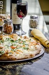 Ricotta Pie at Cinelli's Pizza Ristorante - PHOTO BY MARK CHAMBERLIN