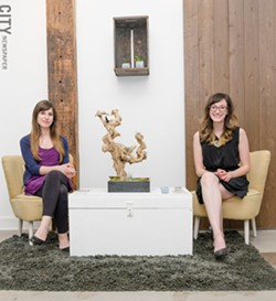 Rochester Brainery founders Stephanie Rankin and Danielle Raymo. - PHOTO BY MARK CHAMBERLIN