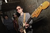 PHOTO BY FRANK DE BLASE - Rochester musician John Viviani has left Filthy Funk behind and stepped to the mic for his new project, the pop/rock-leaning Blue Falcon.