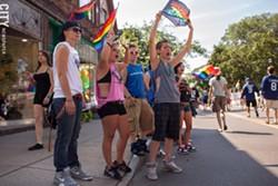 Rochester Pride - PHOTO BY MATT BURKHARTT