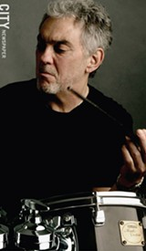 """PHOTO COURTESY XEROX ROCHESTER INTERNATIONAL JAZZ FESTIVAL - Rochester-raised drummer Steve Gadd has played with many music legends over his long career, including Eric Clapton and Paul Simon. His current project, """"Quartette Humaine,"""" is with jazz greats David Sanborn and Bob James."""