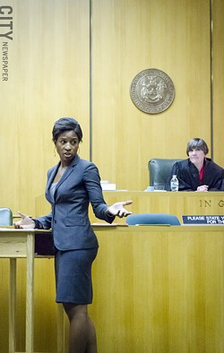 Rochester Teen Court proceedings are adjudicated by a City Court justice. - PHOTO BY MARK CHAMBERLIN