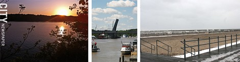 Rochester waterfronts at Irondequoit bay and Charlotte beach. - FILE PHOTOS