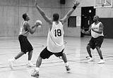 FRANK DE BLASE - Rochester's new pro team, in practice last week at the Metrocenter Y.
