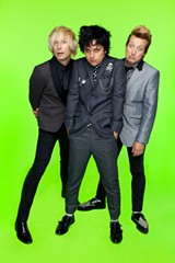 PHOTO PROVIDED - Rock band Green Day has been music royalty since its mainstream debut in the early 1990's. After a brief break last fall, it is back on tour with a stop at Blue Cross Arena on April 1.