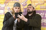 "MGM/THE WEINSTEIN COMPANY - Rolling stoners: Jason Mewes - (left) and Kevin Smith return as Jay and Silent Bob in Smith's ""Clerks II."""