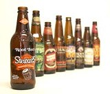 PHOTO BY JASON WOZ - Root beers of our world: selections from the taste test.