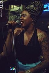 PHOTO BY FRANK DE BLASE - Roots singer Nikki Hill has only been on the scene for a few years, but she's getting a big buzz for her huge voice and fiery stage presence.