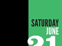 Saturday, June 21 - Schedule