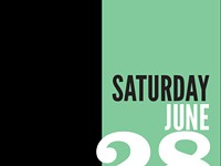 Saturday, June 28 - Schedule