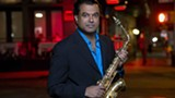 PHOTO COURTESY OF XEROX ROCHESTER INTERNATIONAL JAZZ FESTIVAL - Saxophonist Rudresh Mahanthappa is a leader in 10 different ensembles. For the Rochester Jazz Fest he will perform with Gamak.