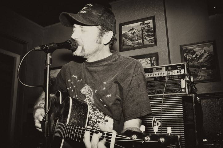 Scott Biram performed at Abilene on Wednesday, June 13. - PHOTO BY FRANK DE BLASE