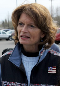 Senator Lisa Murkowski, an Alsaka Republican - PHOTO BY SGT. THOMAS DUVAL, 1/25 SBCT PUBLIC AFFAIRS