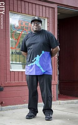 Sherman Dickerson, president of the Joseph Avenue Business Association. - PHOTO BY MARK CHAMBERLIN