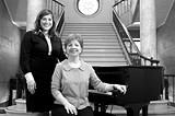 GARY VENTURA - Shining a light on - women's music: Sophia Ahmad and Sylvie Beaudette.
