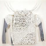 "COURTESY UB ART GALLERY - ""ShirtBlueHorns"" by Kim Jones"