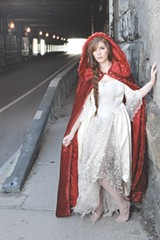 PHOTO PROVIDED - Singer-songwriter Kaylin Cervini has a thing for fairy tales, especially Little Red Riding Hood.