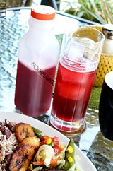 Sorrel drink is a must when washing down rich Christmas cake in Jamaica. FILE PHOTO