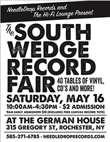 CREATED BY CHRIS MINICUCCI - South Wedge Record Fair Flyer