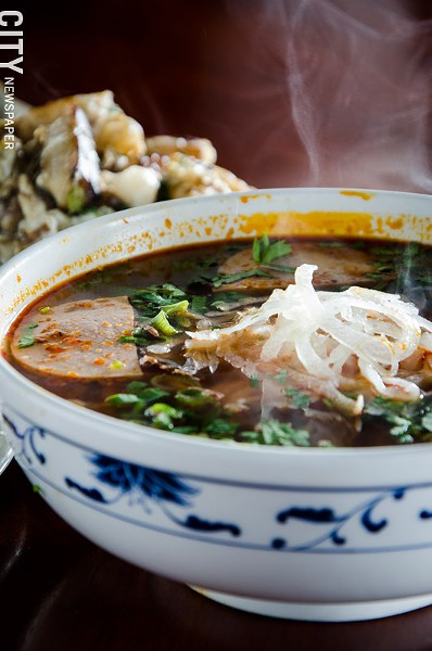 Spice Noodle Soup - PHOTO BY MARK CHAMBERLIN