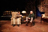 "PHOTO BY DAN HOWELL - Stefan Cohen and Greg Byrne in ""Tuesdays with Morrie."""