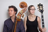 PHOTO BY G. POWELL - Stephan Crump and Mary Halvorson will perform together as Secret Keeper at the Bop Shop on Thursday, April 2.