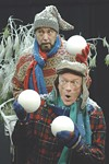 "Stuart Burke and Fred Nuernberg in     Rochester Children's Theatre's ""A Year with Frog and Toad."""