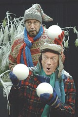 """Stuart Burke and Fred Nuernberg in - Rochester Children's Theatre's """"A Year with Frog and Toad."""""""