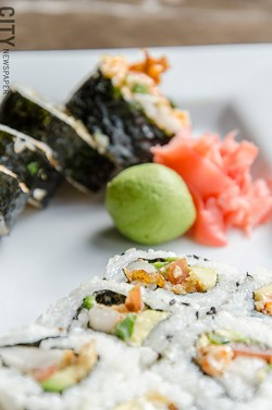 Sushi. - PHOTO BY MARK CHAMBERLIN
