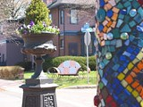 PHOTO PROVIDED - Talk about the Walk: ARTWalk, an outdoor museum on University Avenue, makes the Neighborhood of the Arts even cooler.