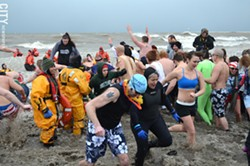 The 15th annual Polar Bear Plunge will take place February 8. - PHOTO BY MATT DETURCK