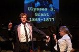 """PHOTO BY COLIN HURTH - The cast of """"44 Plays for 44 Presidents,"""" currently on stage at the Geva Nextstage."""