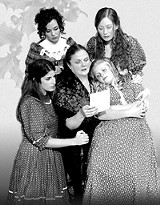 "COURTESY BLACKFRIARS - The cast of Blackfriars' ""Little Women"""