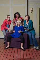 "The cast of ""Motherhood the Musical,"" now on stage at Downstairs Cabaret Theatre's Winton location. PHOTO PROVIDED"