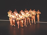 "PHOTO BY EMILY HOWARD, PITTSFORD MUSICALS - The cast of Pittsford Musicals' production of ""A Chorus Line."" The show runs through June 22 at RIT's Panara Theatre."