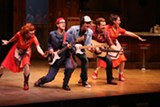 "PHOTO BY KEN HUTH - The cast of ""Pump Boys and Dinettes,"" now on stage at Geva Theatre Center."