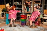 "PHOTO BY DAN HOWELL - The cast of ""Steel Magnolias,"" currently on stage at Blackfriars Theatre."