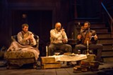 """PHOTO BY ZACH ROSING, COURTESY OF INDIANA REPERTORY THEATRE - The cast of """"The Whipping Man,"""" now on stage at Geva Theatre Center."""