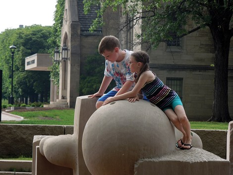 The Centennial Sculpture Park has opened MAG's grounds to more public interaction. - PHOTO COURTESY THE MEMORIAL ART GALLERY