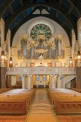 PHOTO PROVIDED - The Craighead-Saunders Organ at Christ Church.