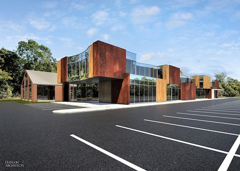 The Culver Road Armory's developer proposes commercial and residential additions to the project. - PROVIDED PHOTO