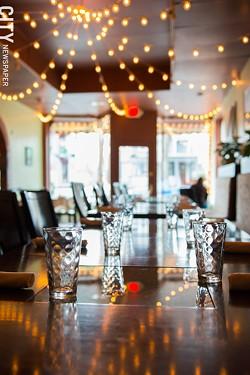 The dining room at Roam Cafe. - PHOTO BY THOMAS J. DOOLEY