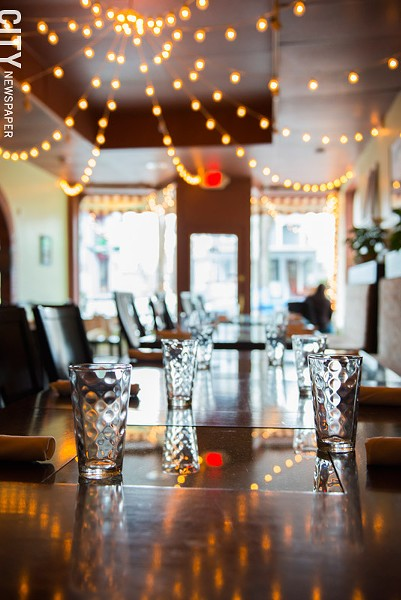 The dining room at Roam Cafe. - PHOTO BY THOMAS J. DOOLEY
