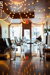 The dining room at Roam Cafe.