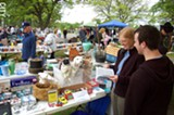 The East Avon Flea Market is just one of many area locations where you can bargain hunt this summer. - PHOTO BY MATT DETURCK