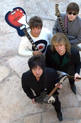PHOTO PROVIDED - The Empty Hearts, with Andy Babiuk, Wally Palmar, Elliot Easton, and Clem Burke, just released its new album on August 5.