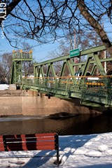 The Erie Canal in Spencerport, which is located in Ogden. - FILE PHOTO